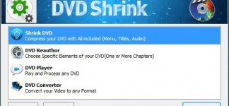 Download DVDShrink – Free: Dvdshrink